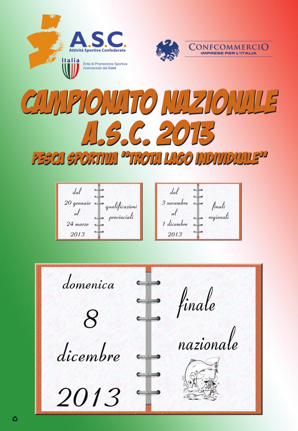 LOCANDINA_informativa CAMPIONATO_NAZIONALE_TROTA lago 2013