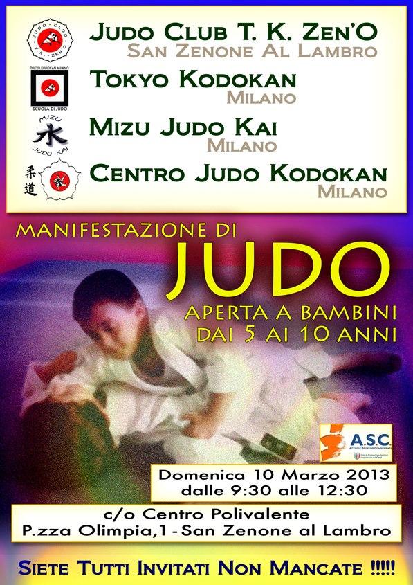 Manifestazione JUDO Bambini 10-03- 2013