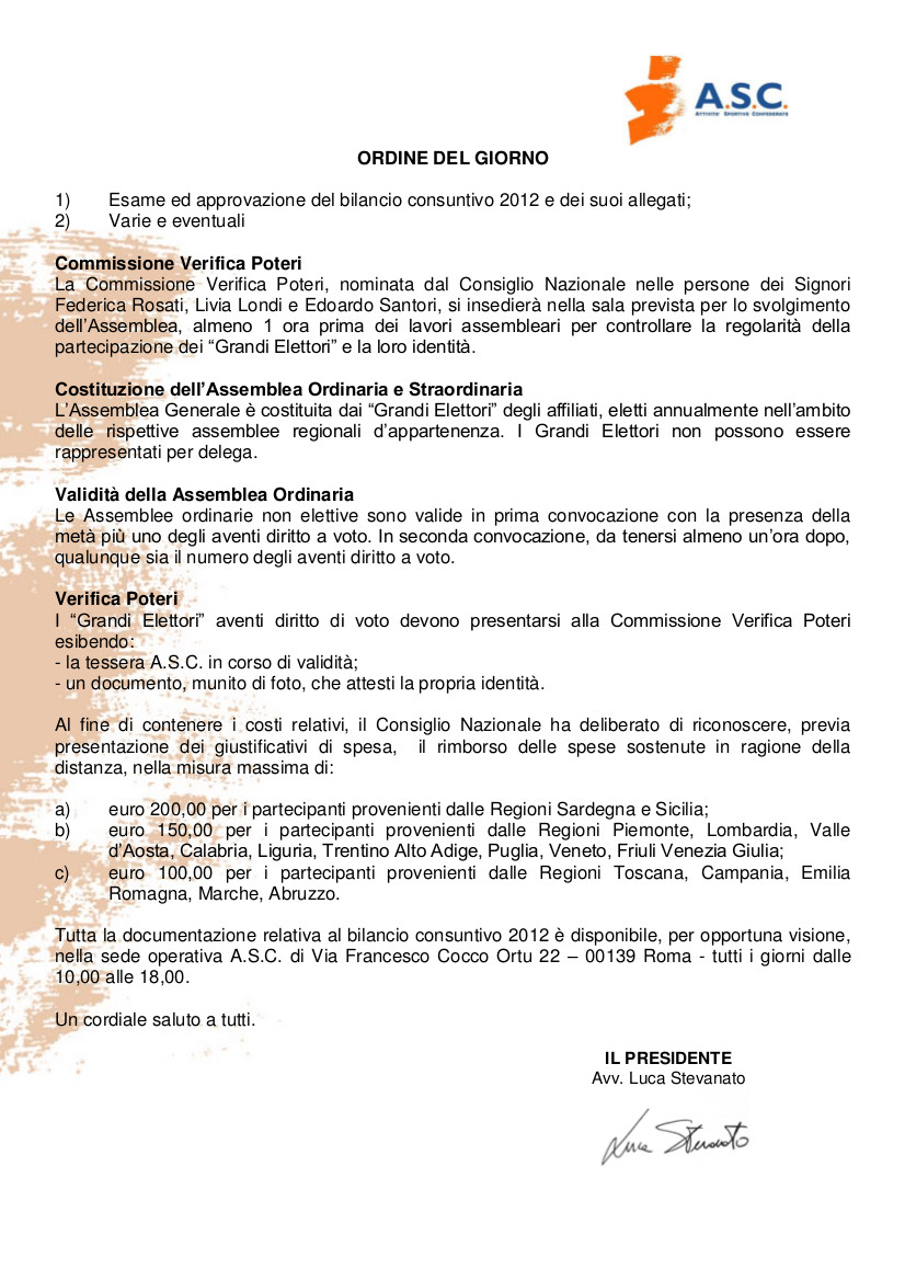 lettera di convocazione assemblea Nazionale 2013 b