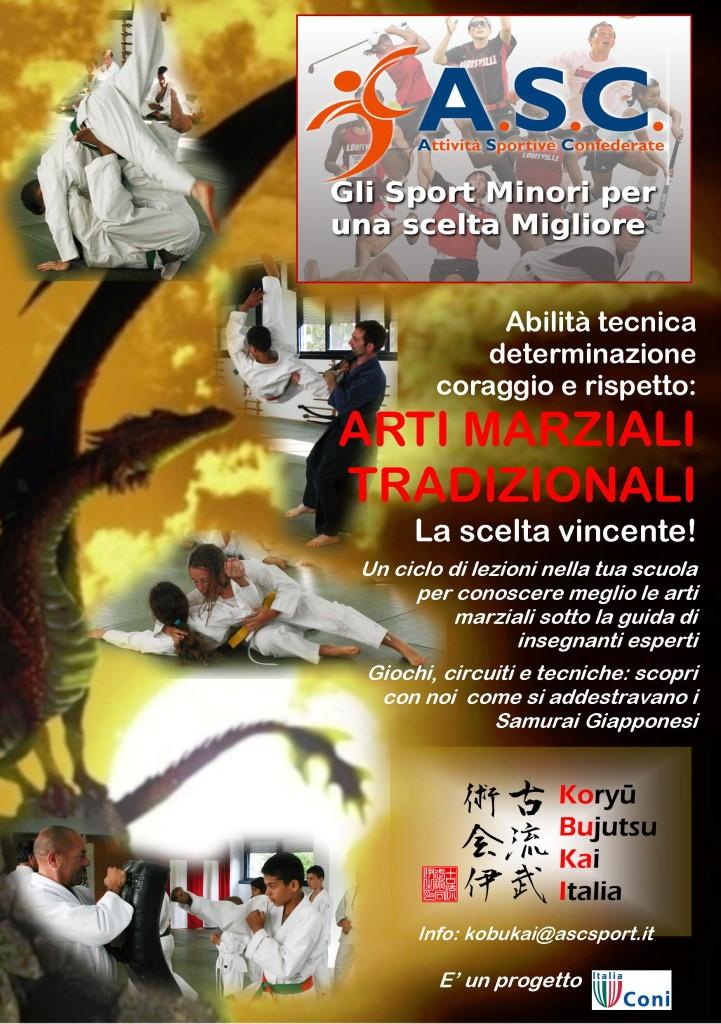 2014.03.27 Progetto affiancamento Scuola MEDIE Flyer 01