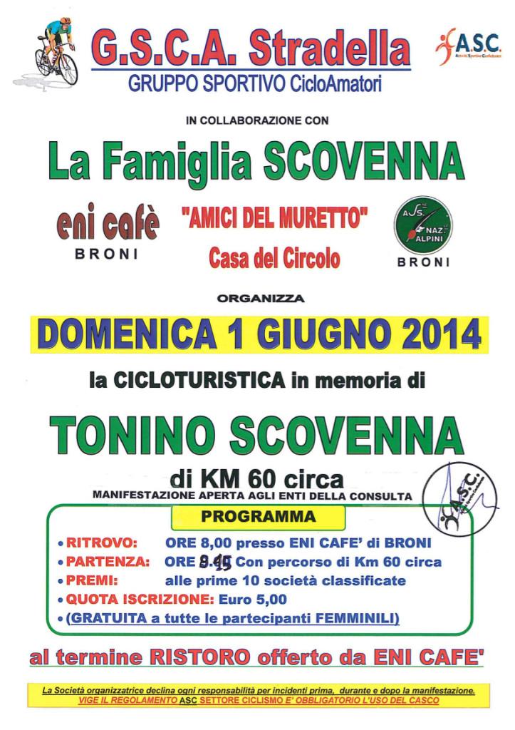 Cicloturistica Tonino Scovenna
