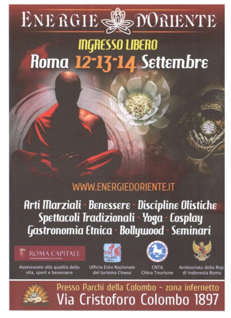 Energie D'oriente 12-13-14 Settembre 2014
