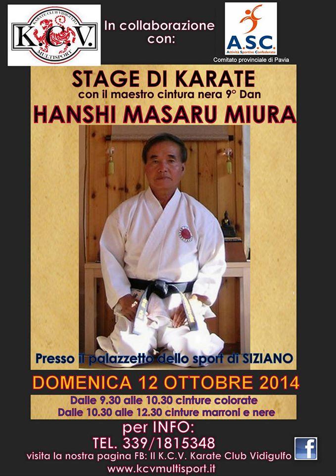 stage maestro Miura