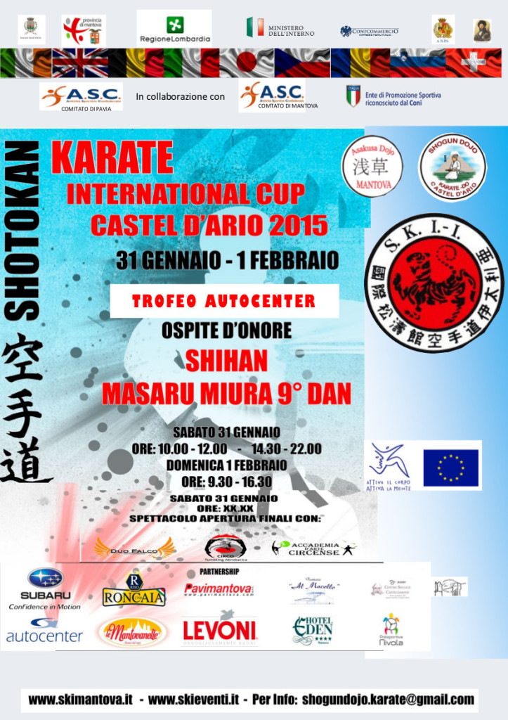volantino karate international