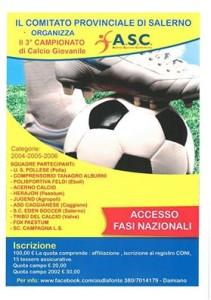 Campionato giovanile Salerno]