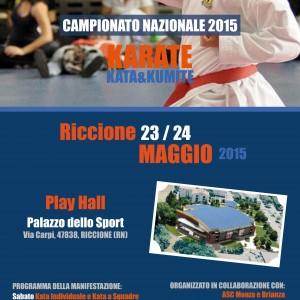 Campionato Nazionale 2015 Karate