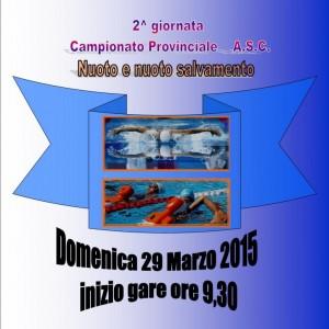 Campionato A.S.C. Nuoto e Nuoto Salvamento