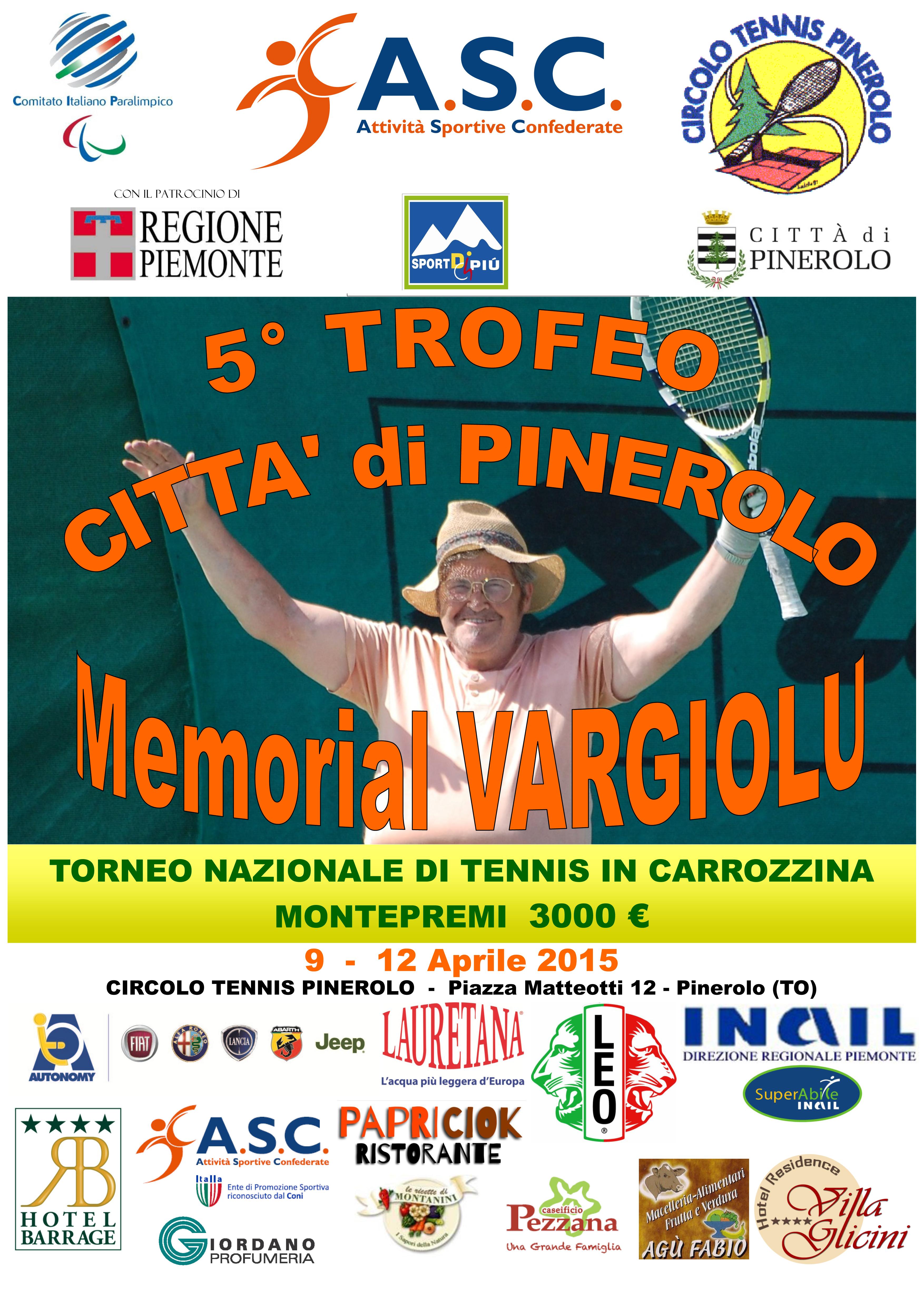 Locandina torneo Pinerolo _2015