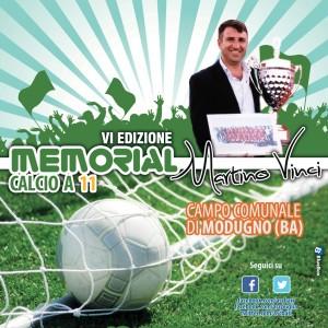 """ASC BARI- MEMORIAL DI CALCIO A 11 """"MARTINO VINCI""""- VI EDIZIONE 2015"""