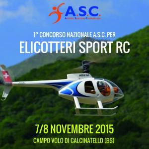ELICOTTERI SPORT RC-1°concorso nazionale A.S.C.