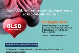 Corso BLSD - primo soccorso