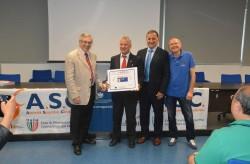 ASC Milano - Premiazioni dei tecnici e dei dirigenti di Krav Maga  difesa personale e discipline da combattimento