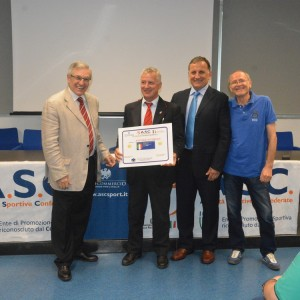 ASC Milano – Premiazioni dei tecnici e dei dirigenti di Krav Maga, difesa personale e discipline da combattimento