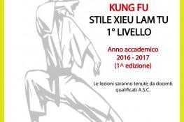 CORSO INSEGNANTI A S C  KUNG FU-XIEU LAM TU 1   LIVELLO