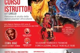 Corso istruttori 1   livello - danze popolari afrocubane
