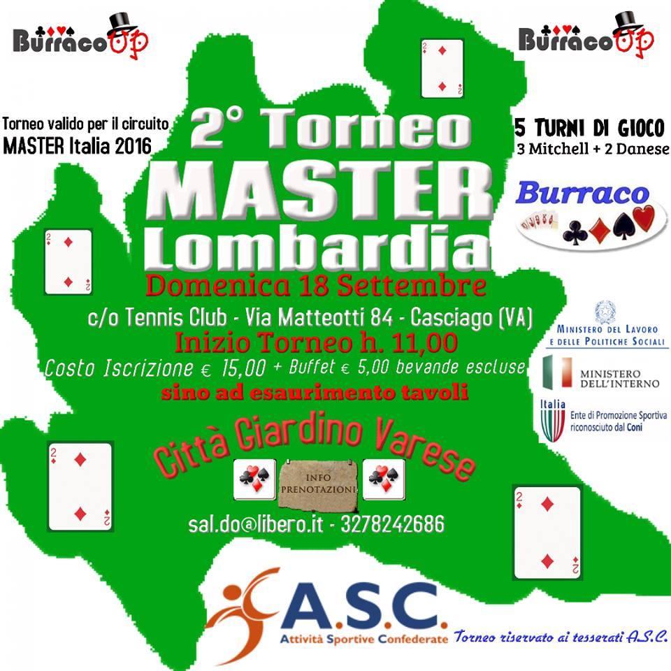 MASTER LOMBARDIA 18 SETTEMBRE
