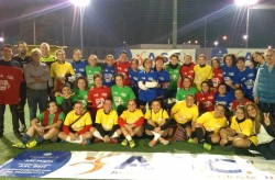 ASC PUGLIA  Gara e Premiazione  evento di calcio femminile  STOP VIOLENCE AGAINST WOMAN