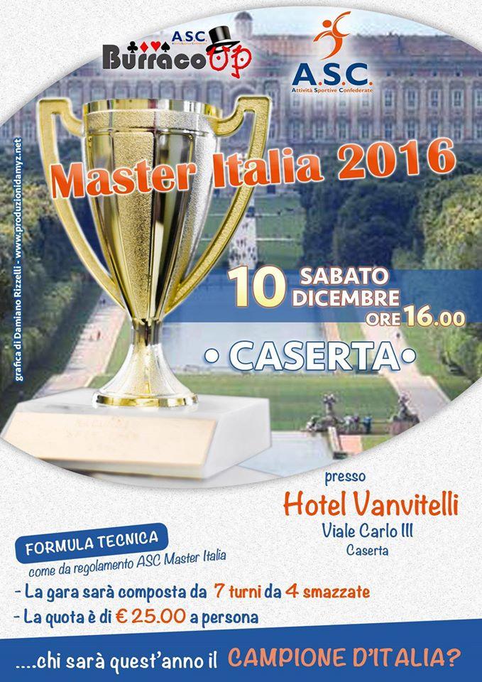 MASTER ITALIA 2016