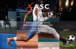 CHIUSE LE ISCRIZIONI AL CORSO  I   Week end di formazione sportiva e dei servizi alla persona