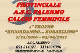 Campionato Provinciale di Calcio Femminile A S C