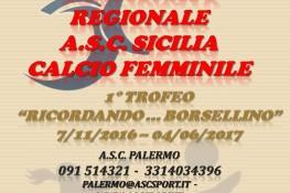 Campionato Regionale di Calcio Femminile A S C