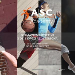 """CHIUSE LE ISCRIZIONI AL CORSO """"Weekend di formazione sportiva e dei servizi alla persona"""" 3-4 dicembre"""