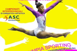 Competizione ginnastica artistica M F - TROFEO ITALIA