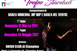 TROFEO STARDUST - DANZA MODERNA  HIP HOP  DANZA DEL VENTRE