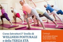 Corso Istruttori I   livello di Wellness Posturale e della Terza Et   A S C
