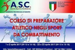 Corso di formazione A S C  per  Preparatore Atletico negli sport da combattimento
