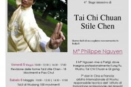 4   Stage intensivo di Tai Chi Chuan stile Chen A S C