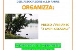 Campionato A S C  di Carpfishing regione Lombardia