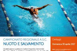 Campionato regionale A S C  NUOTO E SALVAMENTO