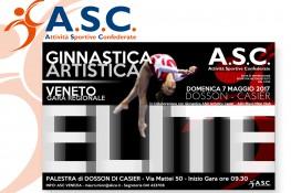 Elite A S C  - Ginnastica Artistica - Prova Regionale Veneto 2017