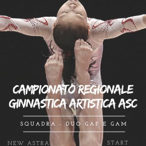 CAMPIONATO REGIONALE GINNASTICA ARTISTICA A.S.C.