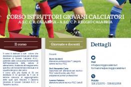 Corso Istruttori Giovani Calciatori A S C