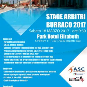 Stage Arbitri Burraco – Bari ASC Burraco UP
