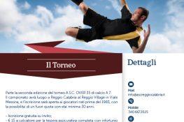 Torneo OVER 35 calcio A7 A S C