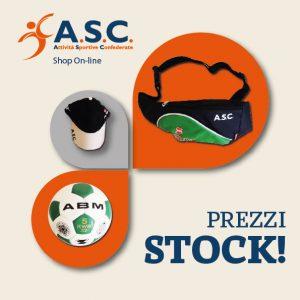 A.S.C. SHOP PREZZI STOCK!