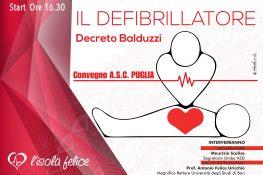 Convegno ASC Puglia     IL DEFIBRILLATORE    Decreto Balduzzi