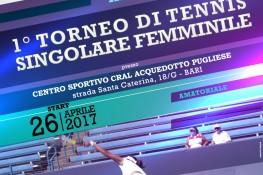 A S C  Puglia  TORNEO A S C  PUGLIA DI TENNIS FEMMINILE SINGOLARE