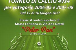 Torneo di Calcio A S C  4vs4