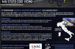2ª EDIZIONE MONTE GRAPPA BIKE NIGHT 22 Luglio 2017