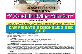 3 Ore della Riviera Adriatica Campionato regionale A S C