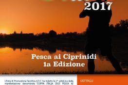 Coppa ITALIA 2017 Pesca ai Ciprinidi 1   Edizione