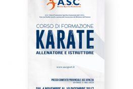 CORSO ALLENATORE E ISTRUTTORE KARATE ASC Venezia