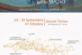 FORMAZIONE Continua per lo SPORT A S C  Torino