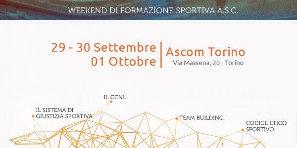 FORMAZIONE Continua per lo SPORT A.S.C. Torino