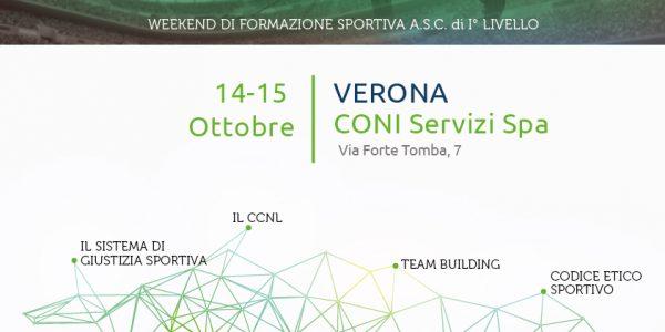 Dirigente Sportivo – Formazione continua per lo sport ASC Verona