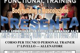 CORSO PERSONAL TRAINER 1   LIVELLO ASC